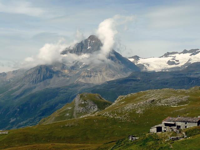 Dôme et glaciers de Chasseforêt
