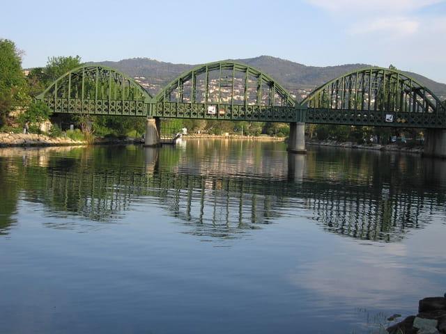 Doux reflets du pont
