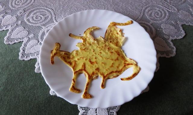 Drôle d'animal dans l'assiette ...