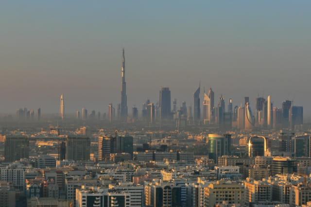 Dubai soleil levant