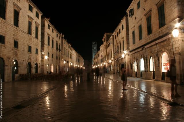 Dubrovnik de nuit