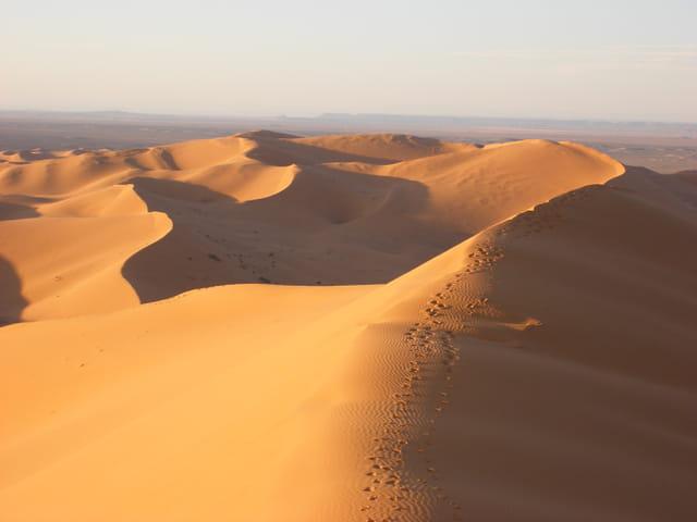 Dunes au maroc
