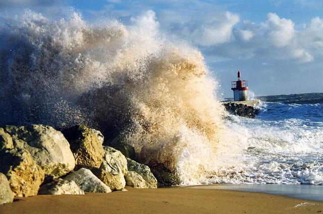 Eclat de vague