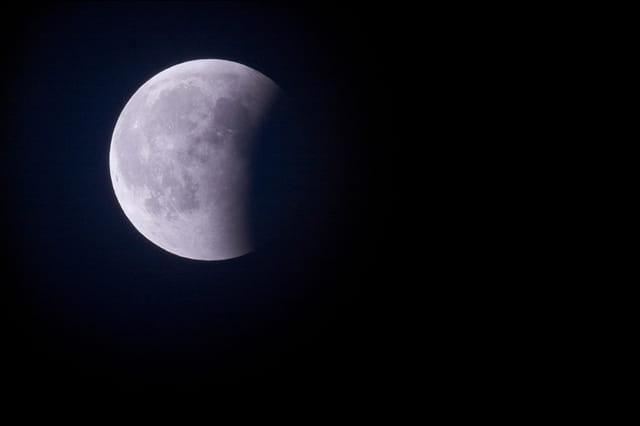 Eclipe de lune - 03/03/2007 - 01h57