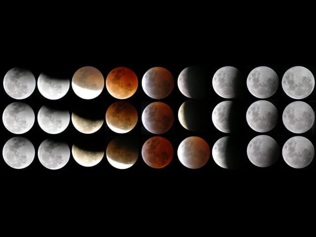 Eclipse de lune du 03 mars 2007