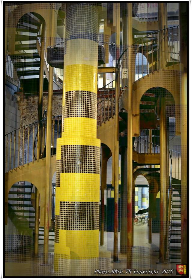 Ecole d 39 architecture de rouen par bruno ragueneau sur l for Photo d architecture