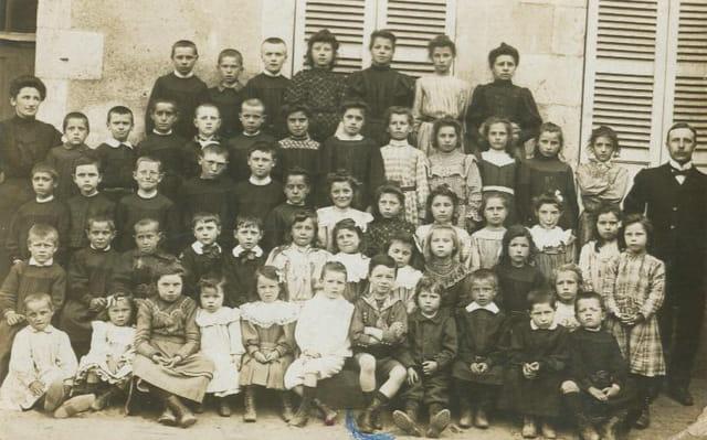 Ecole de Souilly, 1907