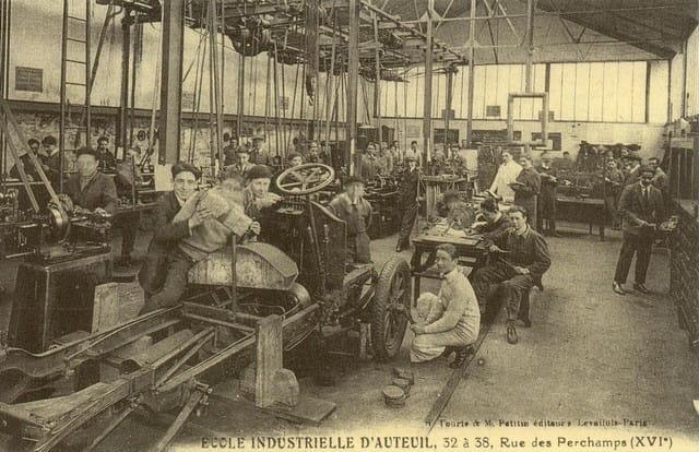Ecole industrielle d'auteuil