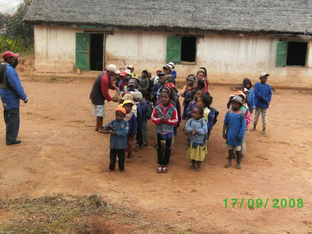 Ecoliers malgaches