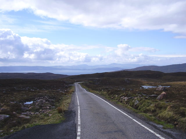 Ecosse passing place
