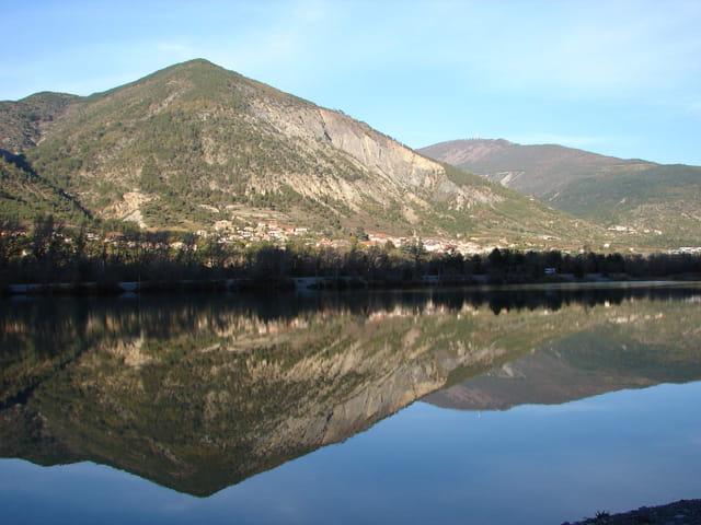 Effet miroir aux 3 lacs