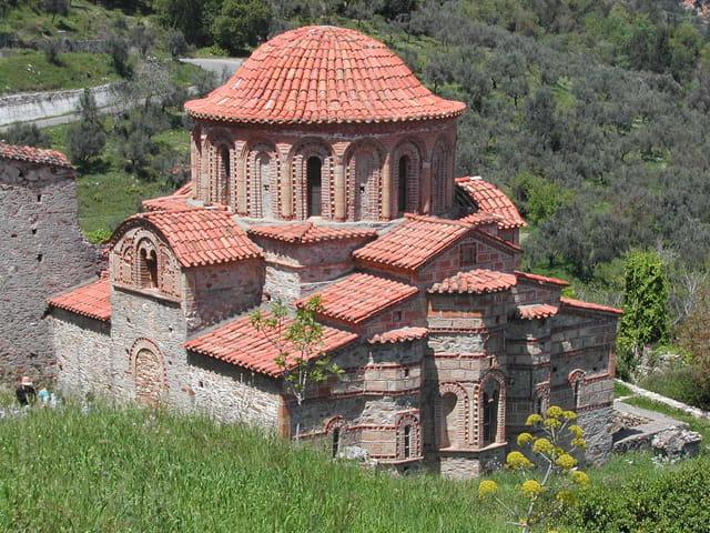 Eglise à Mystra