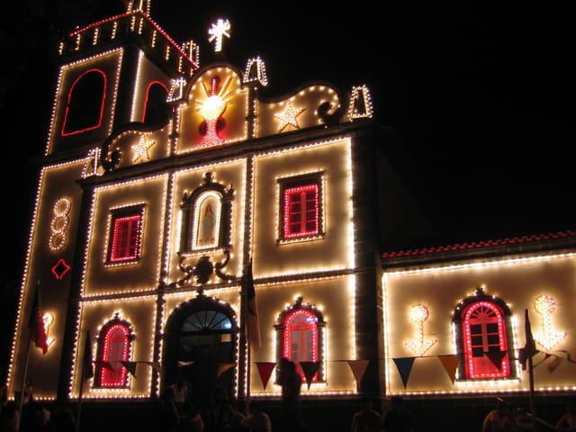 Eglise à saõ miguel - açores