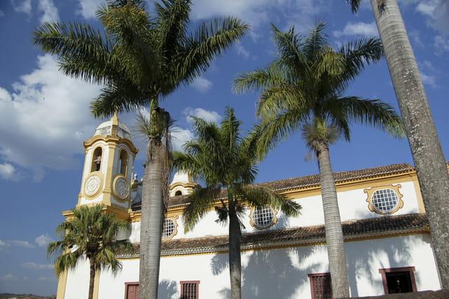 Eglise baroque du Brésil
