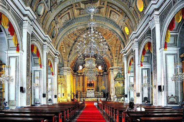 Eglise baroque Saint-Augustin