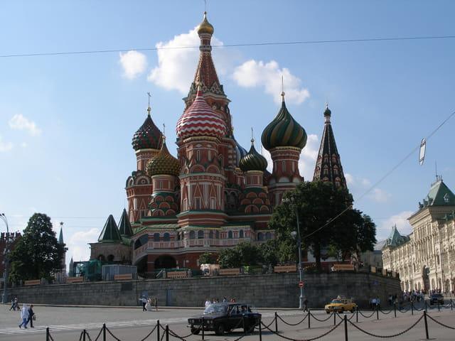 Eglise Basile le Bienheureux, Moscou