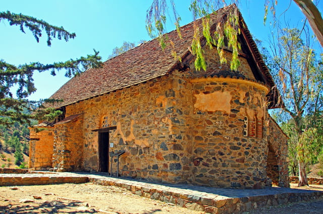 Eglise byzantine d'Asinou ( XIIè siècle )