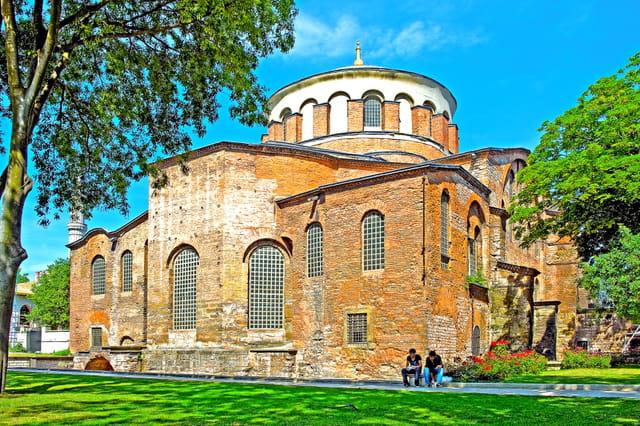 Eglise byzantine Sainte-Irène