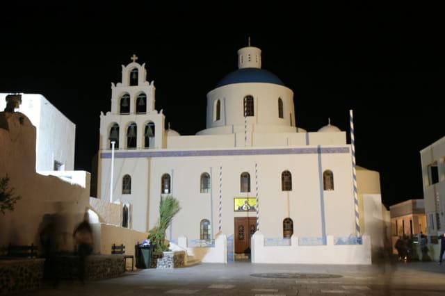 Eglise d'Oia, Santorin
