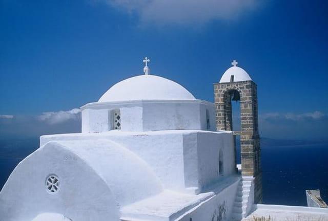 Eglise dans les cyclades