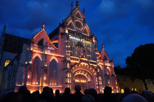 église de Brou , son et lumière