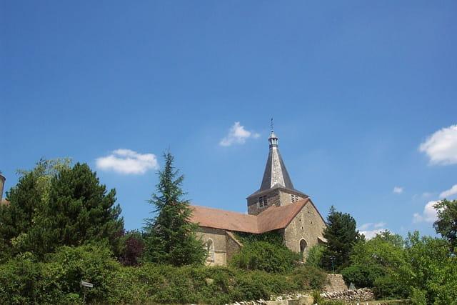 Eglise de Chateauneuf-en-Auxois