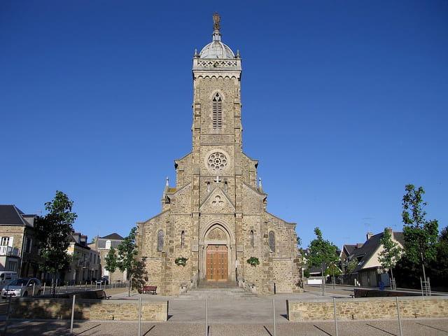 Eglise de Saint-Lunaire (1)