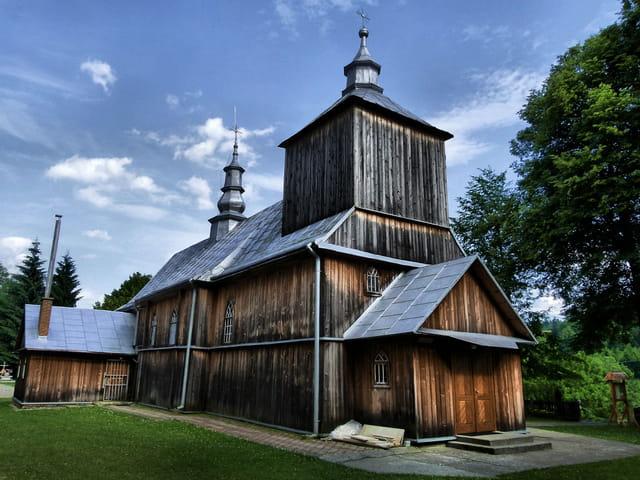 Eglise en bois de Kuzmina