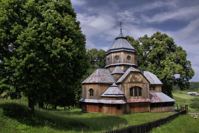 Eglise en bois de Roztoka