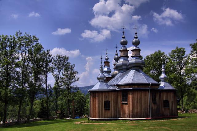 Eglise en bois de Turzansk(pologne)