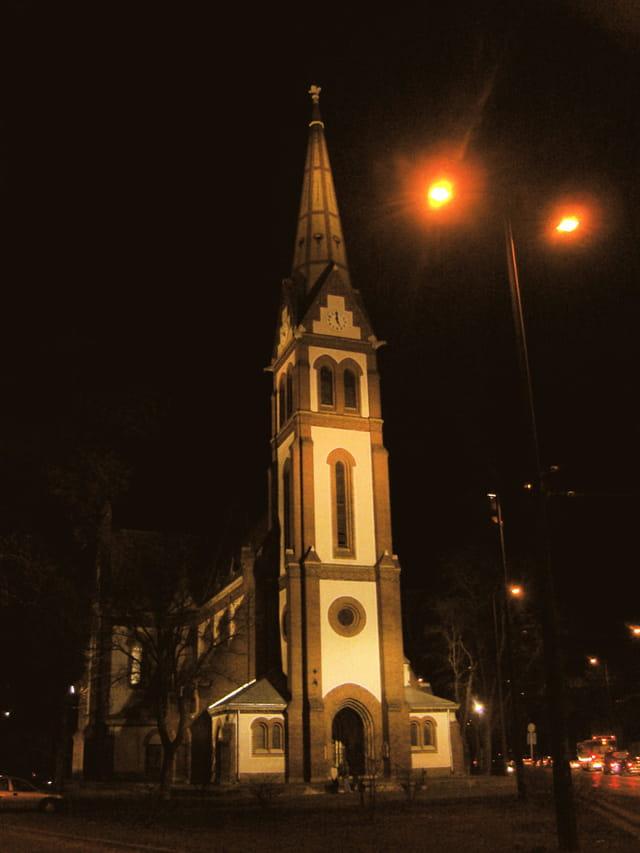 Eglise nocturne