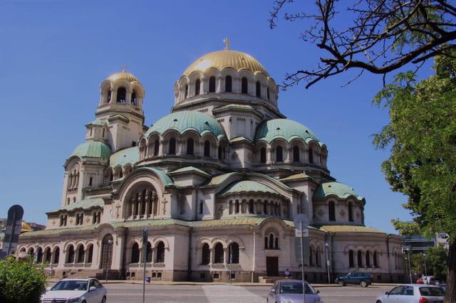 Eglise orthodoxe de sofija(Bulgarie)...