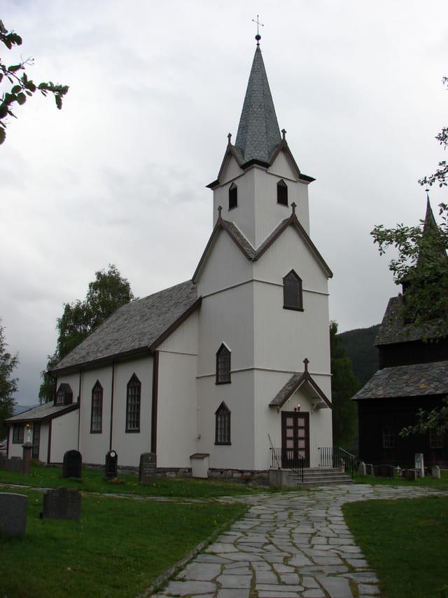 Eglise protestante moderne