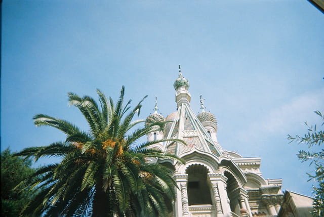 Eglise russe orthodoxe à San Remo