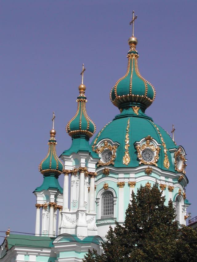 Eglise saint andré à kiev