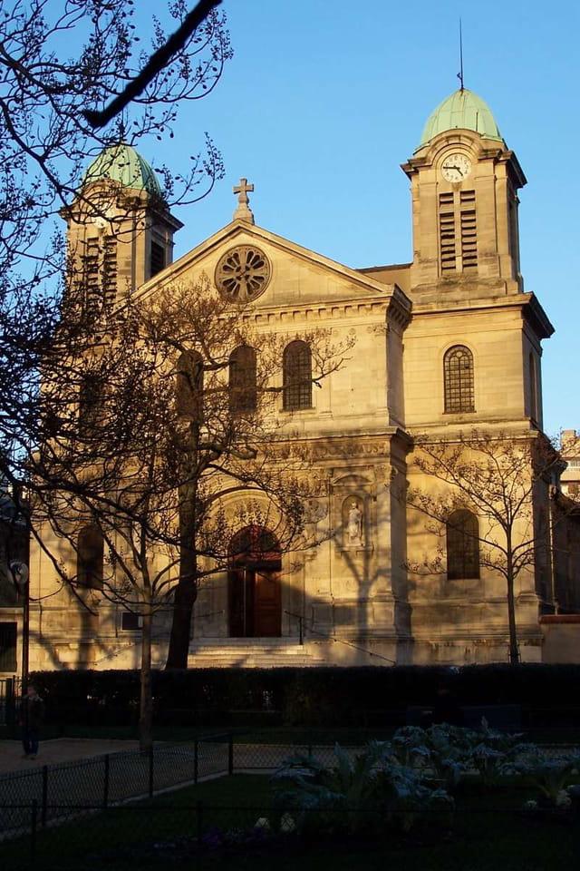 Eglise Saint Jacques Christophe