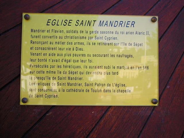 Eglise Saint Mandrier (3)