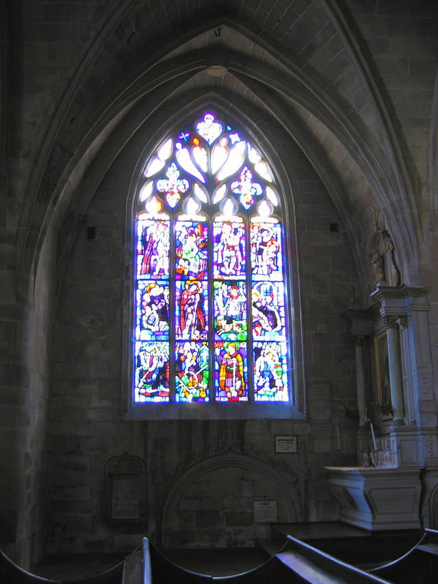 Eglise Saint Sauveur (14 (Vitraux)