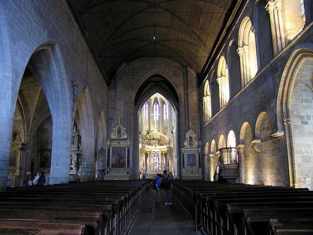 Eglise Saint Sauveur (4) La Nef