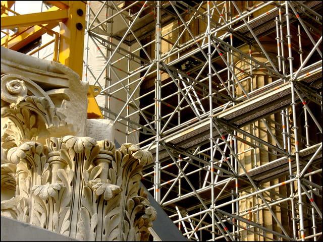 Eglise Saint-Sulpice en cours de restauration