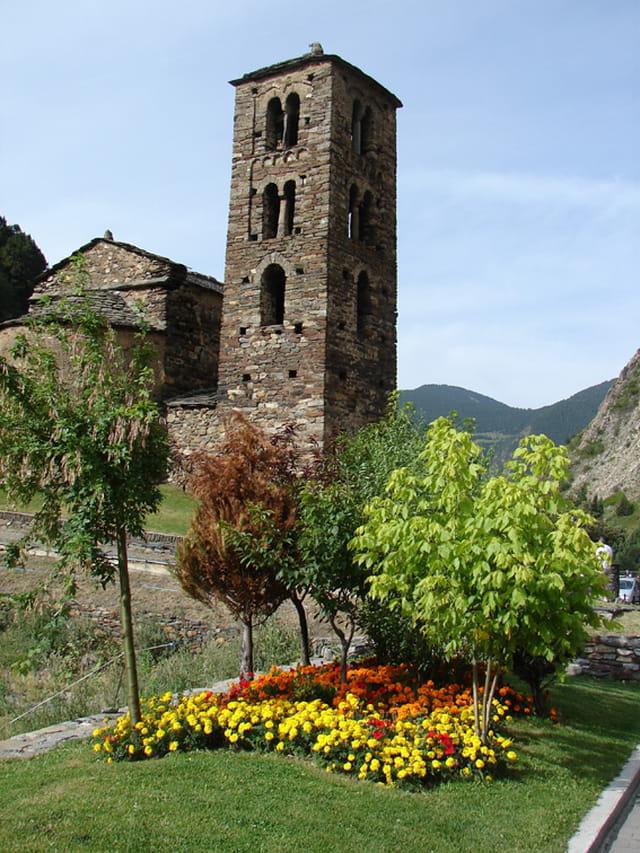 Eglise  en Andorre