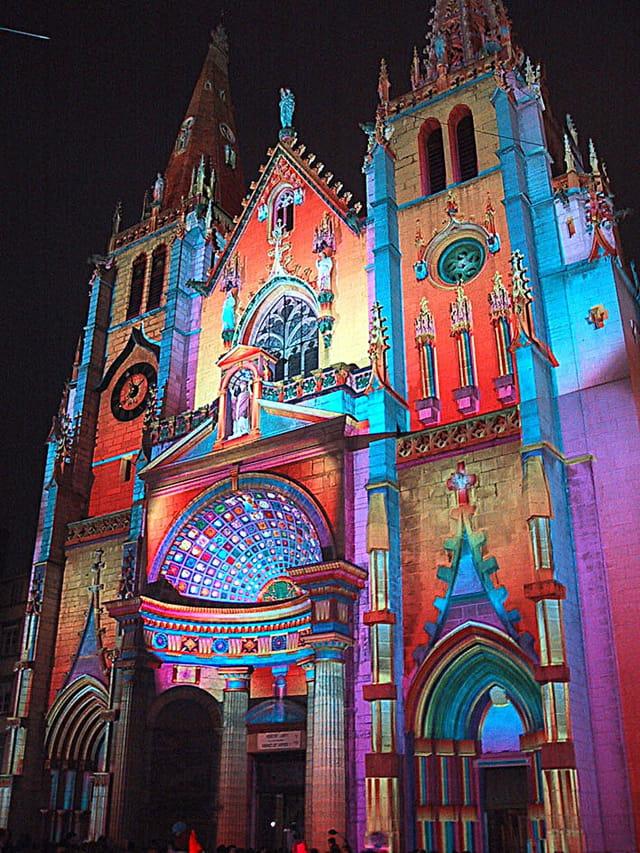 Eglise st-Nizier le 8 décembre