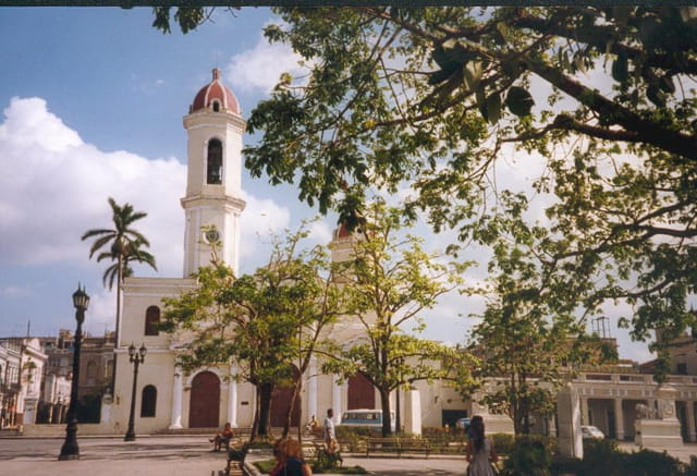 Eglise typique cubaine