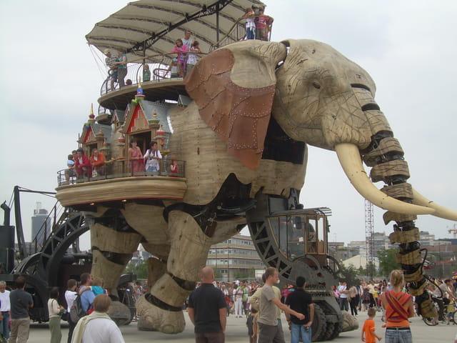 Elephant à Nantes
