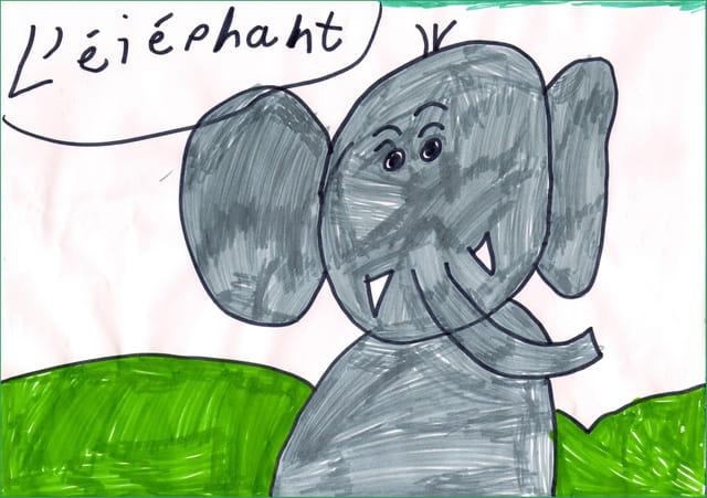 �léphant pour mamie