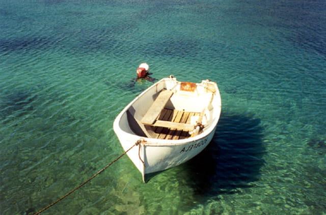 Embarcation sur eau de rêve...