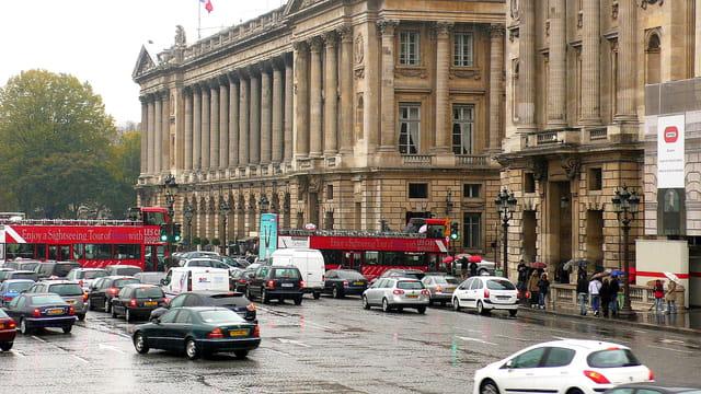 Embouteillage parisien !