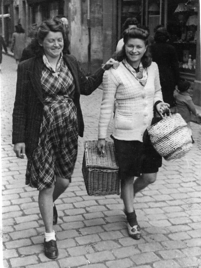 En allant au marché