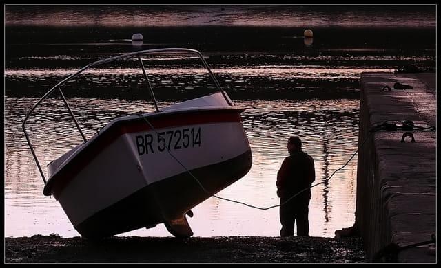 En attendant le marée