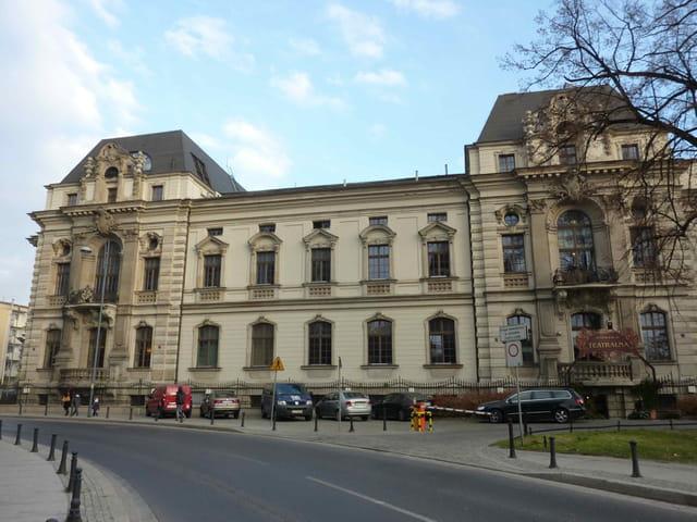 en flânant à travers les rues de Wroclaw